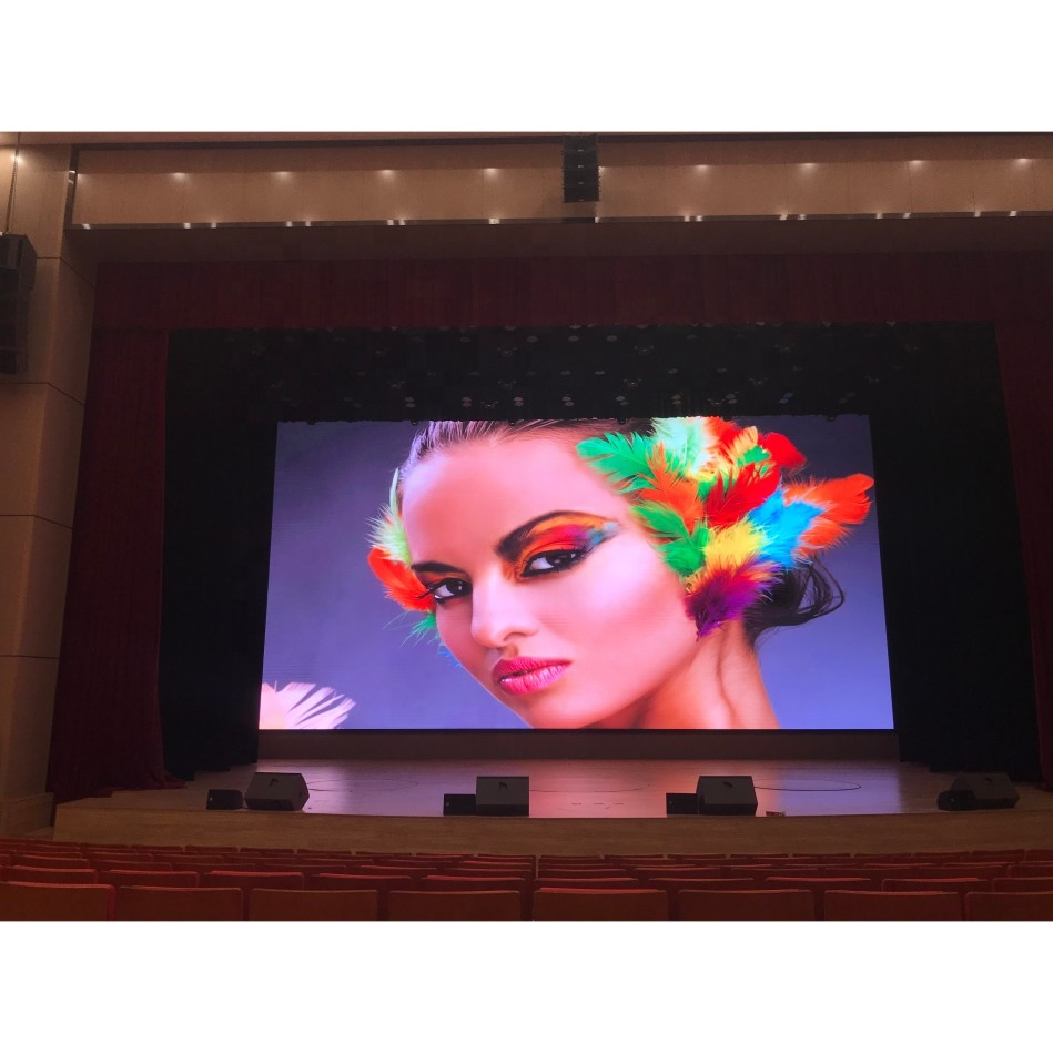Shenzhen Indoor 4Mm Pixel Pitch Panel P4 Flexible Led Display <strong>Screen</strong>
