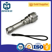 Outdoor lighting led aluminum alloy strong light flashlight with strong light charge