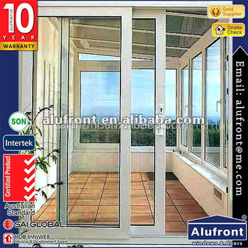 Australia And Europe Standard Aluminum Sliding Doors For Commercial
