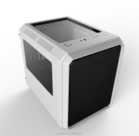 Cube Micro ATX PC Case Transparent Panel Computer Gaming Case