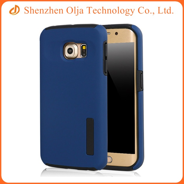 Cell phone case hybrid TPU and PC cover mobile phone case for Samsung galaxy s6 edge plus