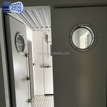 Mobile container cold room for chicken and meat