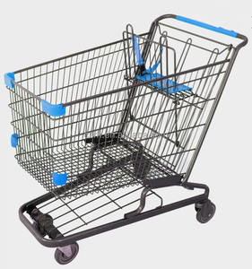 America Style Supermarket With Wheels Shopping Trolley