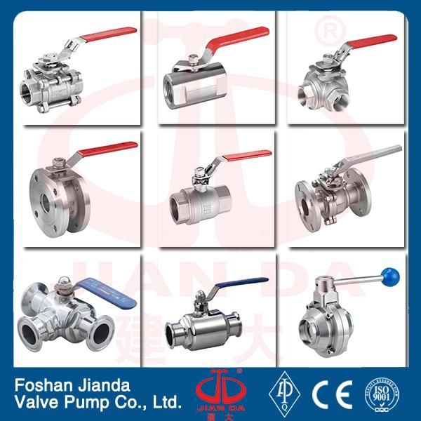 high quality long stem ball valve