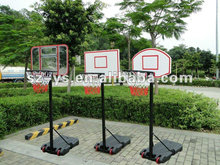 Base Material Porter Design Basketball Stand with board completed plastic basketball stands for kids