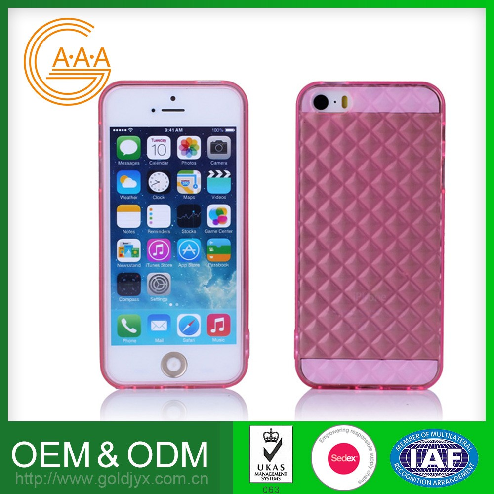 Hot Selling Oem Cell Phone Case Customized Design Eco-Friendly Custom Transparent Tpu Phone Cases For Iphone 5S