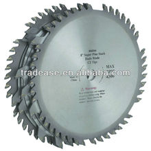 "8"", 42 Tooth Carbide Tipped Dado Blade Stack circular saw blade saw blade for cutting paper"