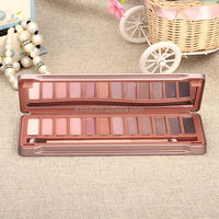 brand name hot sale naked 1 2 3 eye shadow case with mirror
