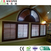 Indoor Cheap Roll Up Home Decor Plantation Shutters