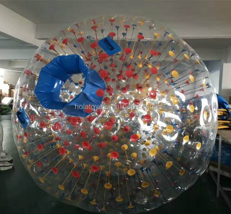 Hola inflatable zorb ball for sale/clear zorb ball for sale