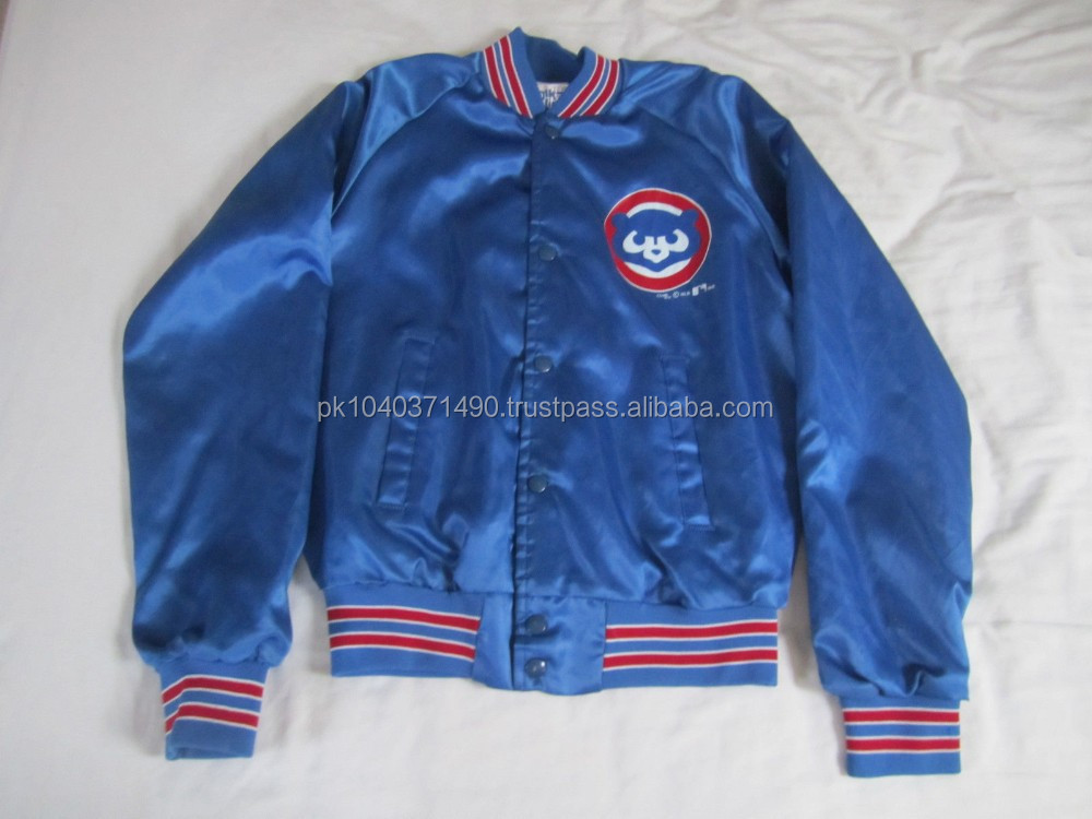 Chicago Cubs Youth XL 18-20 Years Old lightweight MLB BASEBALL JACKET