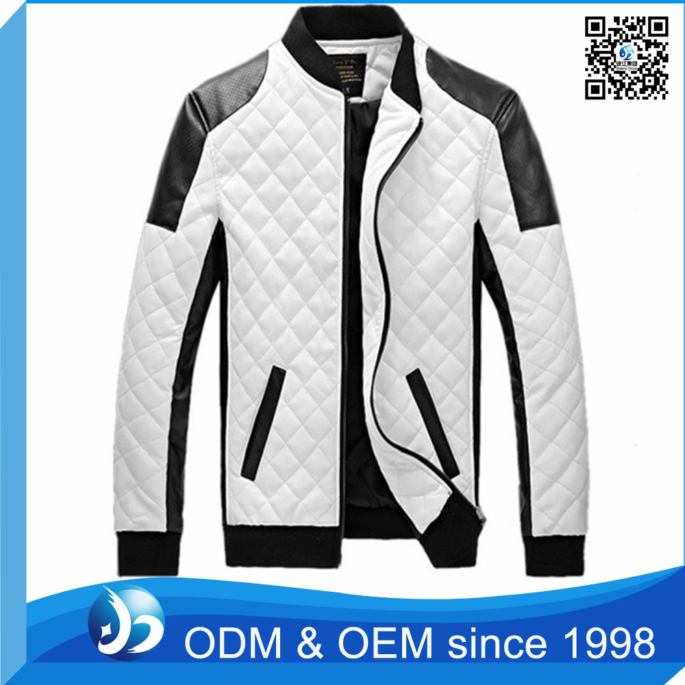 Customized European Leather Motorcycle Jackets in China