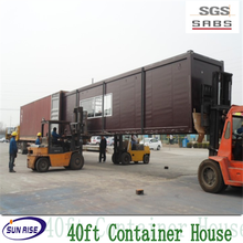 Modern economical sandwich panel prefab shipping container homes with fitting