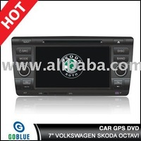 7 inch car dvd player speical for VOLKSWAGEN SKODA OCTAVIwith high resolution digital touch screen ,gps ,bluetooth,TV,radio,ipod
