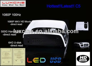 Newest! C5 high quality projector
