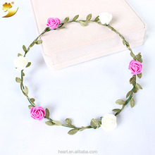 hair accessories factory flower garland paper garland 58125-1