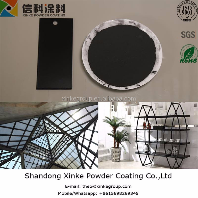 black powder coating for ourdoor use
