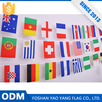 China Wholesale Custom Printing Polyester Fabric Decorate National Flag