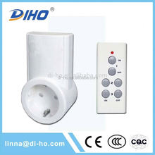 2016 High Quality Best Price Long Distance Three Gang One Way 240V Smart Lighting Wireless Remote Control Switches