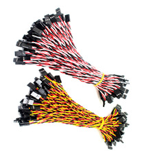 High Quality JR/futaba servo cable male to male,RC servo motor extension wire