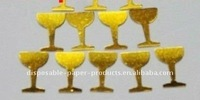 Wholesale Champagne Glass Scatter -Gold