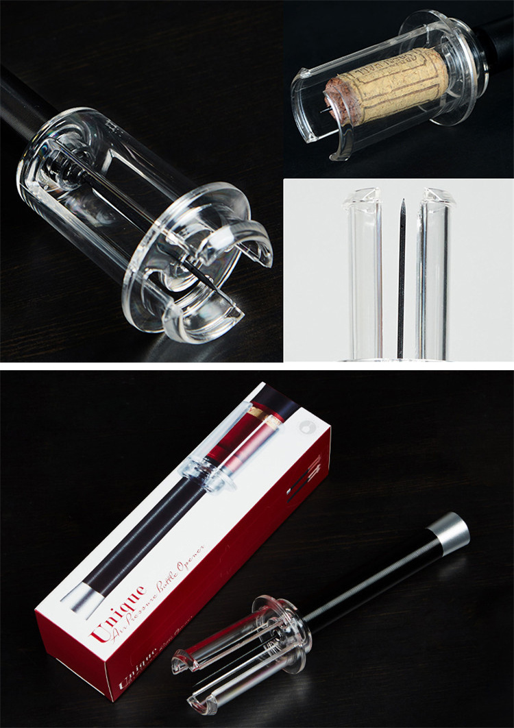 Aluminium alloy Needle wine air pressure opener wine bottle opener