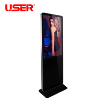 "49 "" floor standing network digital signage, shopping mall media player"