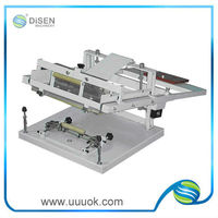 Manual cylinder screen printing machine for sale