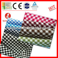 Yarn Dyed Anti Static Cheap Tartan Fabric