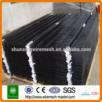 Strong Quality Plastic Powder Coated Black Wire Mesh Fence