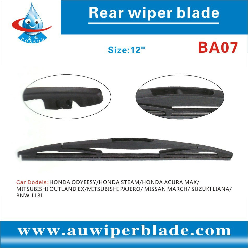 Mitsuba Windshield Silicone Chrome Car all Double Soft Color Heated Universal Yada replace Rear Wiper Blade