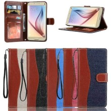 Cowboy Leather Wallet Case for Samsung Galaxy Note 7, for Samsung Note7 with Photo Frame