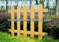 wood plastic composite wpc picket fence