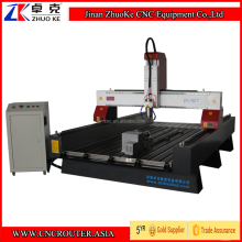 1325 CNC Router 4 Axis Engraving Machine With 3.2Kw Spindle Stainless Steel Water Slot PCI NCStudio Controller ZKM-1325B