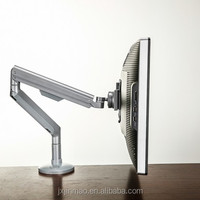 Adjustable Silver LCD Monitor Stand Arm