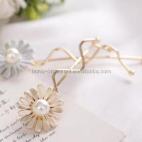 New Fancy Decorative Flower Beaded Hair