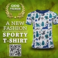 Ciao sportswear - taiwan animal design dri fit jersey and t shirt