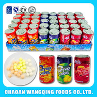 wholesale price 4g compressed fizzy candy in pepsi bottle