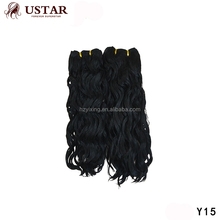 Fashion Ombre Ponytail New Golden Synthetic Hair Natural Wave Hair Extension