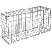 PVC Coated&Galfan Welded Wire Mesh Gabion Box