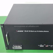 Telecom base Smart UPS battery LiFePO4 battery pack 48V 50Ah 100Ah with RS485/232 communication port