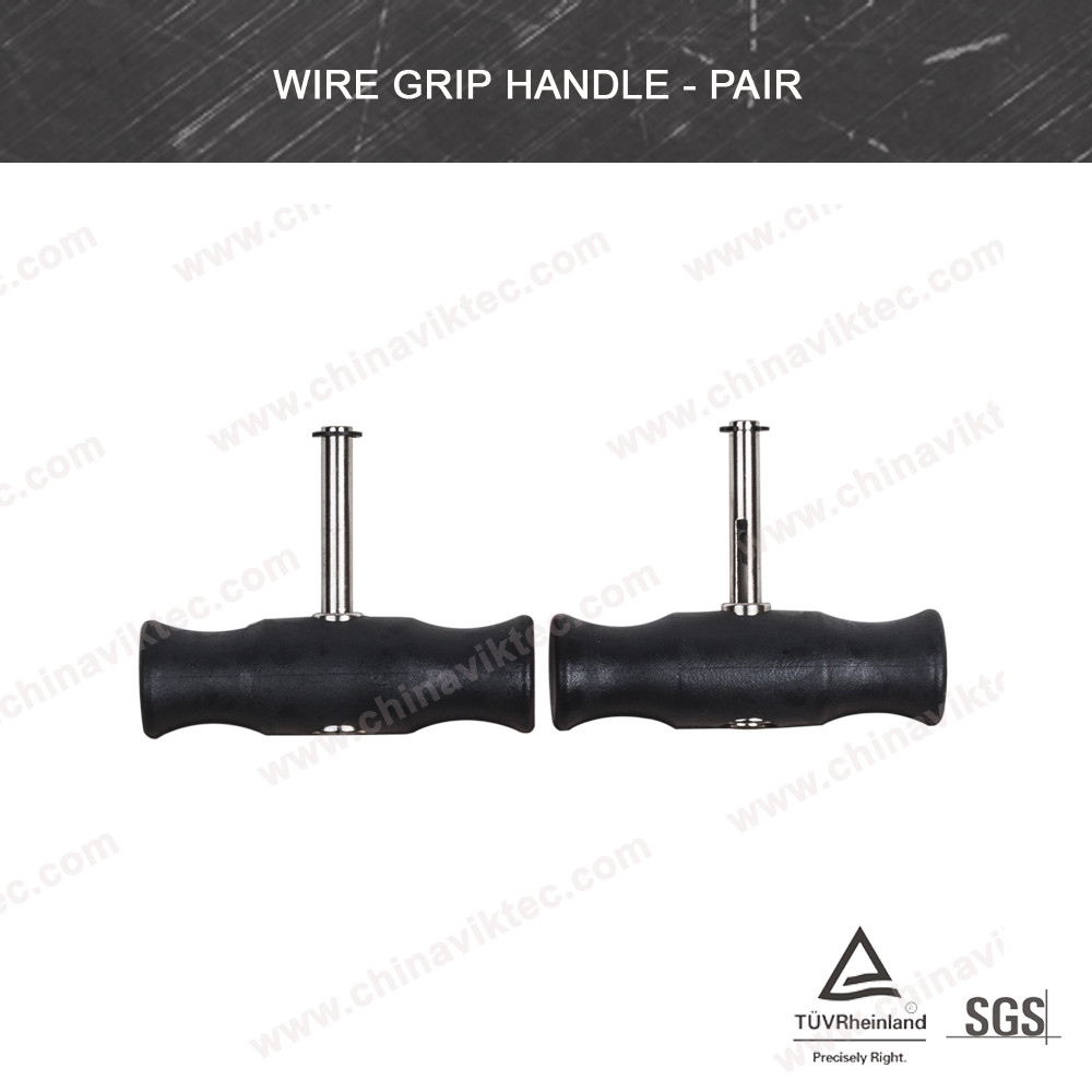 2pc Black Windshield Cutting Wire T Handle / Windsreen Wire removal tools (VT01293)