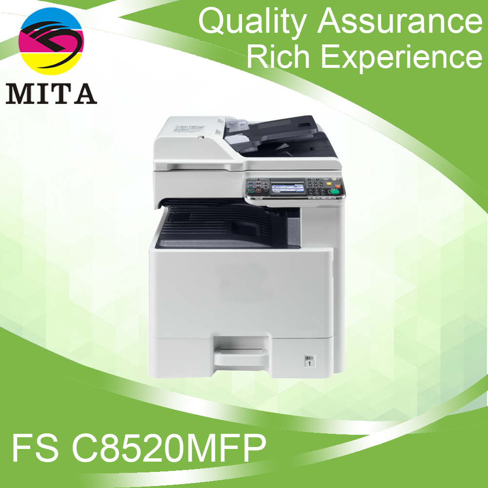 2016 New Colorful Copier FSC8520MFP For Kyocera