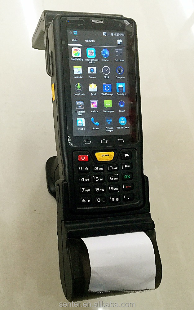 Cheap Sample IP65 Waterproof 8MP Camera 4G LTE Rugged Phone/Android OS 4 inch PDA 1D/2D Barcode Scanner Handheld terminal