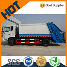 Dongfeng 12 cubic compressing garbage truck dimensions