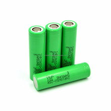 Hot selling Samsung Green INR18650-25R 2500mAh 3.6V 20A li-ion 18650 25R rechargeable battery