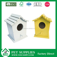 Pet Cages 2016 New product wood craft bird houses
