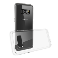 Hot new for samsung galaxy s8 case Shockproof tpu super slim transparent clear cover case