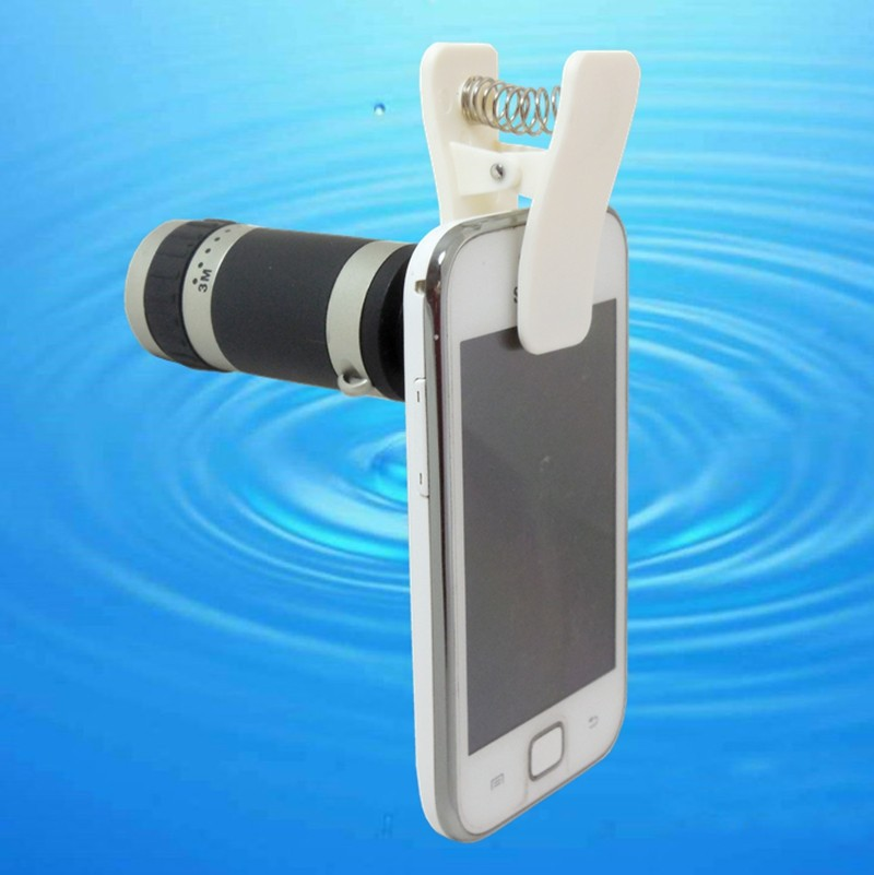 Versatile 6X18mm Monocular Telescope for Smartphone Camera