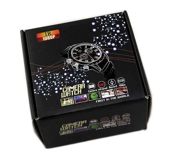 Hd 8 gb 1080 p Dvr Ocultado Reloj de la Cámara de Infrarrojos de Visión Nocturna Impermeable Del Ir
